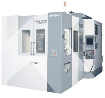new horizontal machining centre Okuma MA400HA